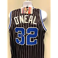 $125 » Shaquille O'Neal Orlando Magic Signed Autograph Custom Jersey Black JSA Witnessed Certified
