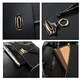 ESTARER Women PU Leather Backpack 15.6inch Laptop