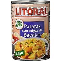 Litoral - Patatas con Migas de Bacalao
