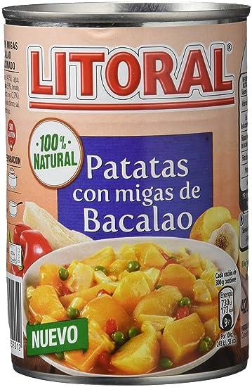 Litoral - Patatas con Migas de Bacalao - Pack de 5 x 420 g