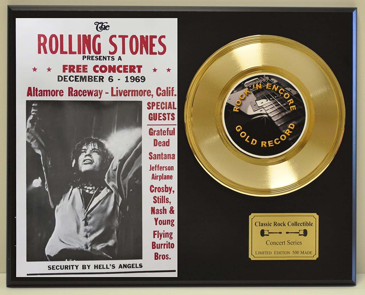 B00DTVF37M ROLLING STONES Limited Edition 45 Record Display. Only 500 made. Limited quanities. FREE US SHIPPING 919W4auiAXL.SL1500_