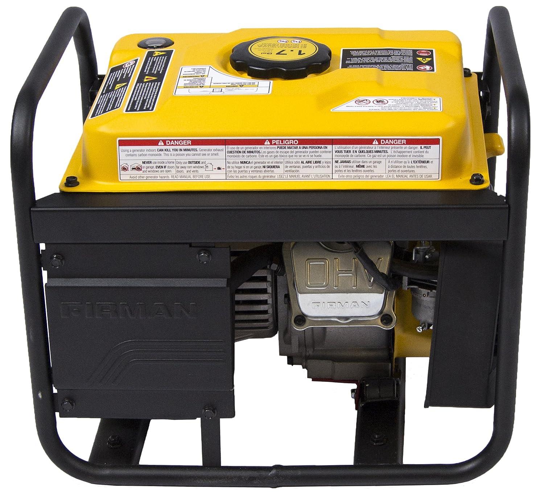 Amazon Firman P 1200 Watt Gas Powered Recoil Start