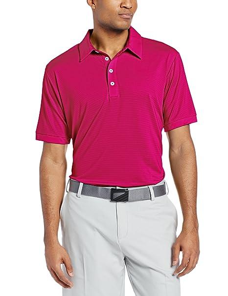 adidas Golf Pantalones de Climalite Microstripe Polo: Amazon.es ...