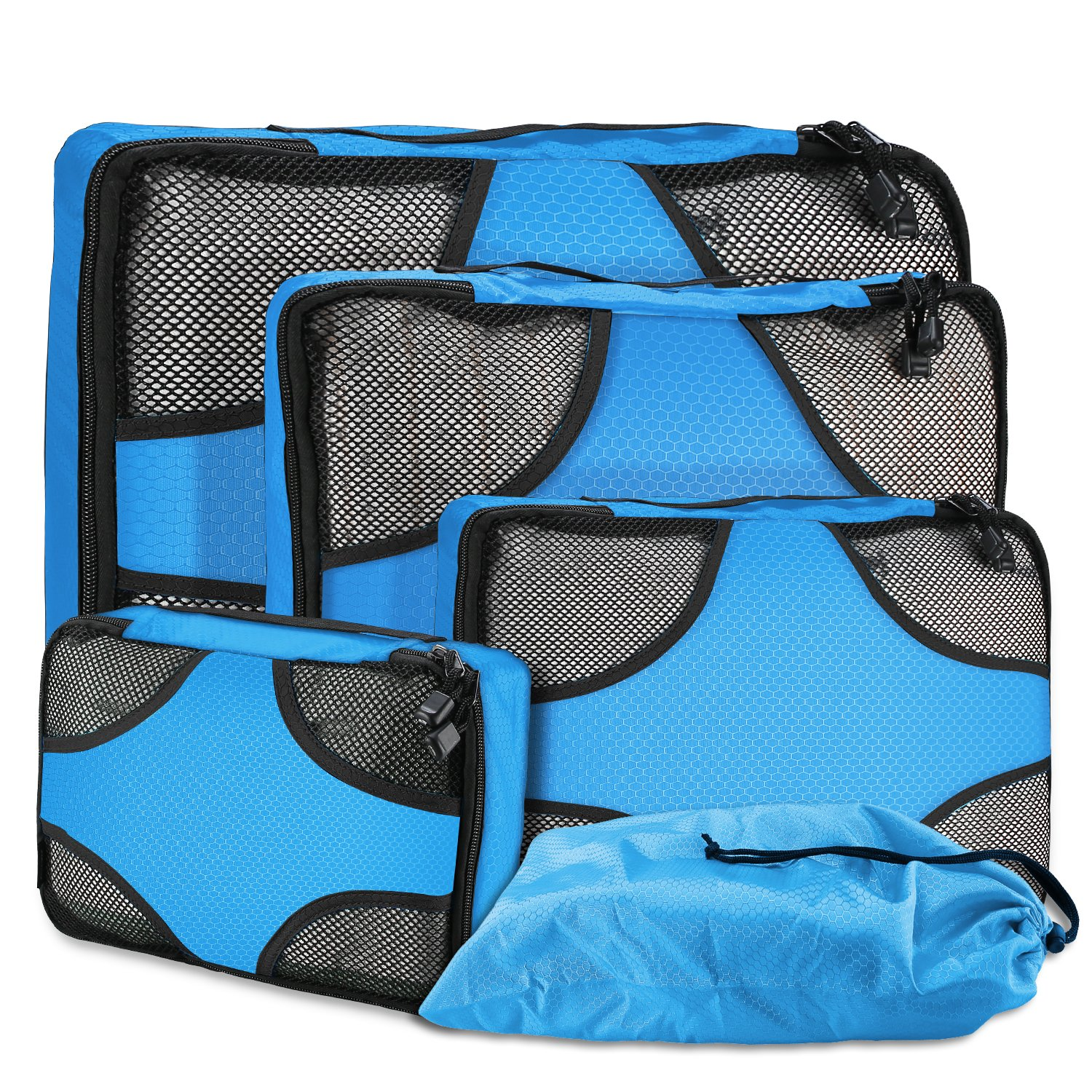 The ProCase Packing Cubes for Travel travel product recommended by Maria on Lifney.