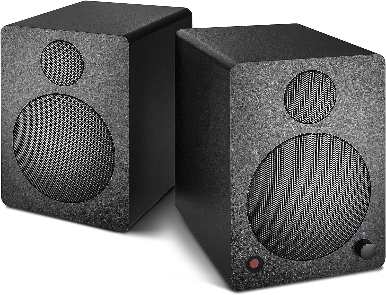 Wavemaster Cube Mini Neo Black Regallautsprecher System 36 Watt Mit Bluetooth Streaming Digitalanschluss Und Ir Fernbedienung Aktiv Boxen Nutzung Für Tv Tablet Smartphone Schwarz 66370 Audio Hifi