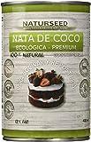Naturseed - Nata de coco ecológica Premium para cocinar, sin lactosa. Nata Vegetal (4x400ML)