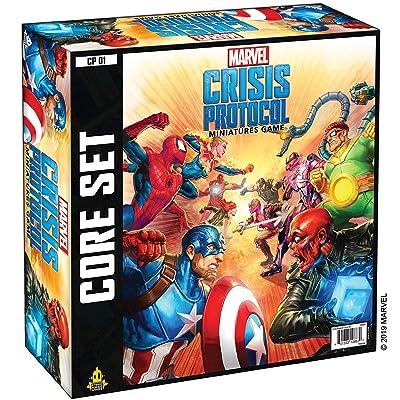 Atomic Mass CP01en Marvel Crisis Protocol Core Game: Toys & Games