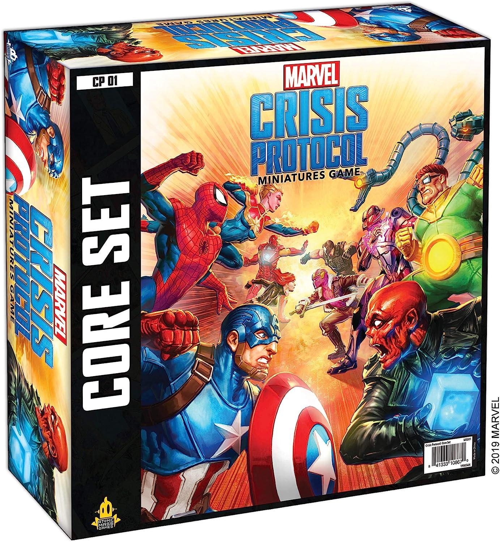 Atomic Mass- Marvel Crisis Protocol Miniatures Game Core Inglés, Color (Fantasy Flight Games CP01EN): Amazon.es: Juguetes y juegos