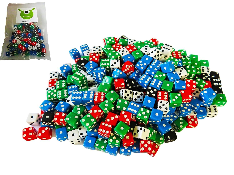 最新な ホビーMonsters 200-piece Mini 8 mm Assortedゲームダイス 200-piece 8 ホビーMonsters B079NXG8V4, 朝倉郡:7e6a803b --- login.spamwall.ie