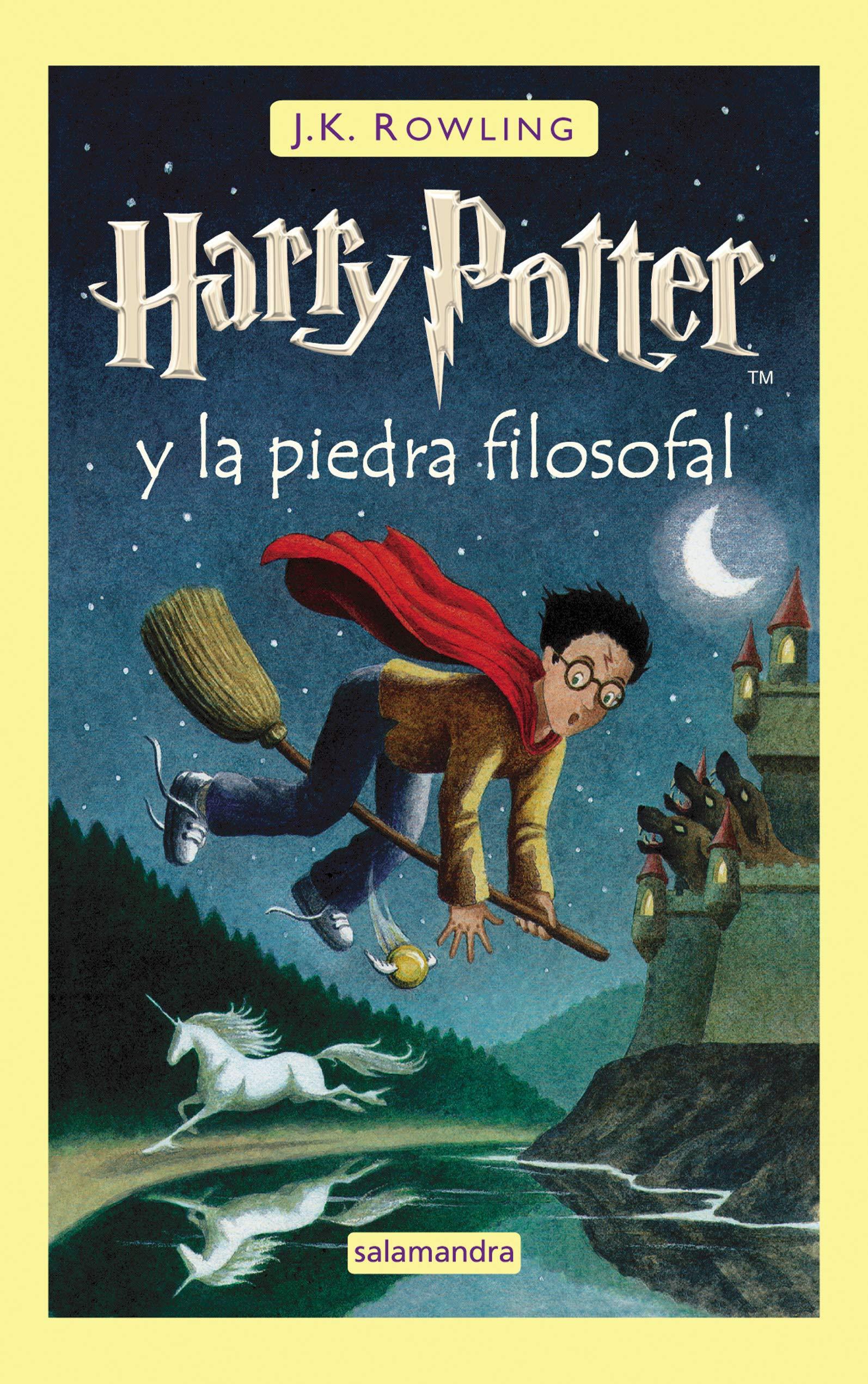 Harry Potter y la Piedra Filosofal: 1: Amazon.es: Rowling, J.K. ...