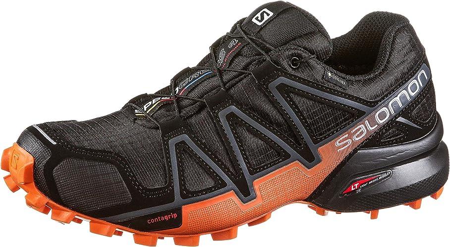 salomon men's speedcross 4 gtx training running shoes size