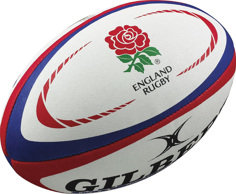 Gilbert - Balón de Rugby, diseño de la selección de Rugby de Inglaterra: Amazon.es: Deportes y aire libre