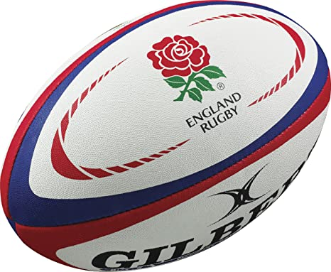 amazon com gilbert england replica rugby ball sports outdoors
