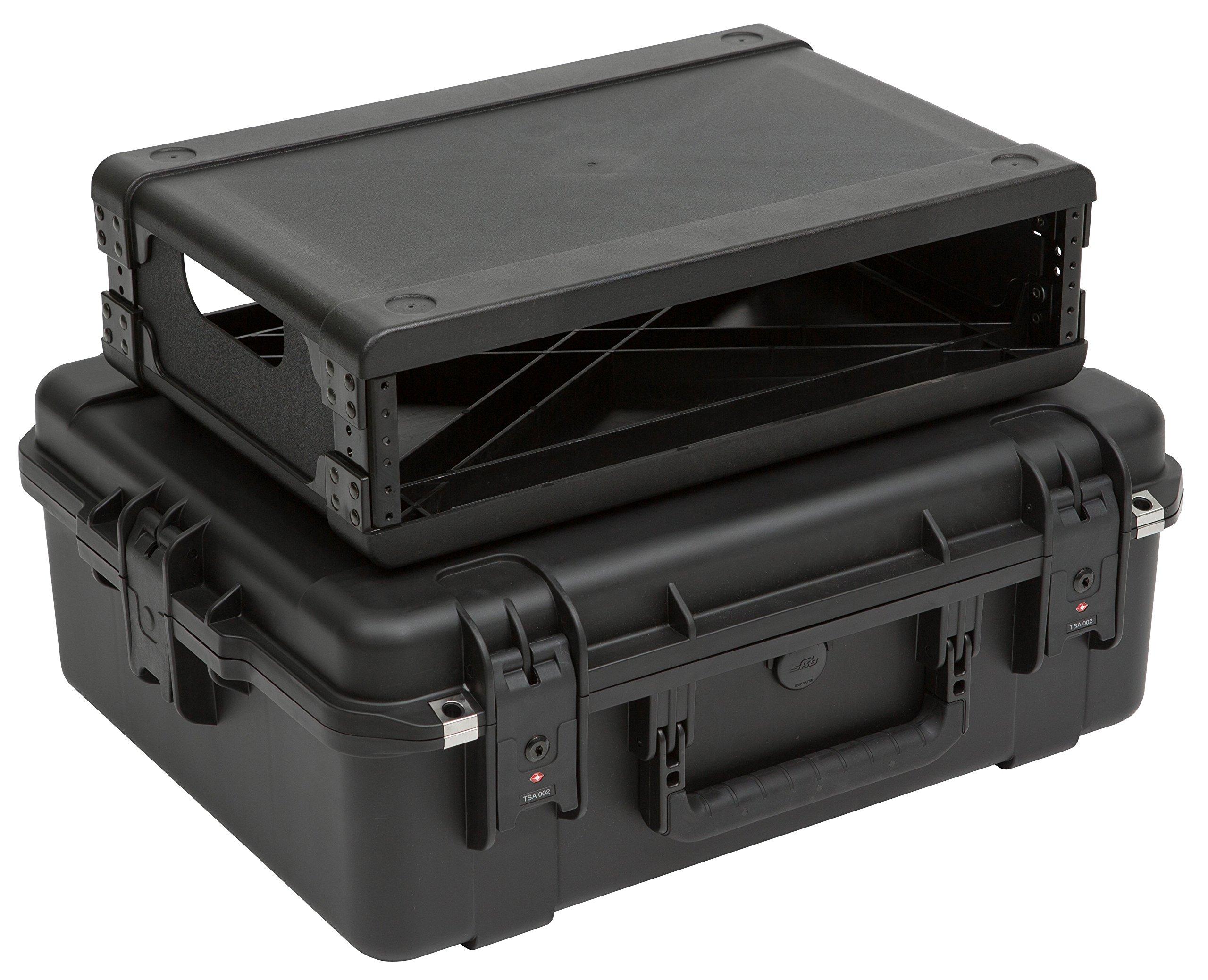 SKB 2U iSeries Injection Molded Fly Rack-13'' Mixer Accessory (3i-2217M82U)