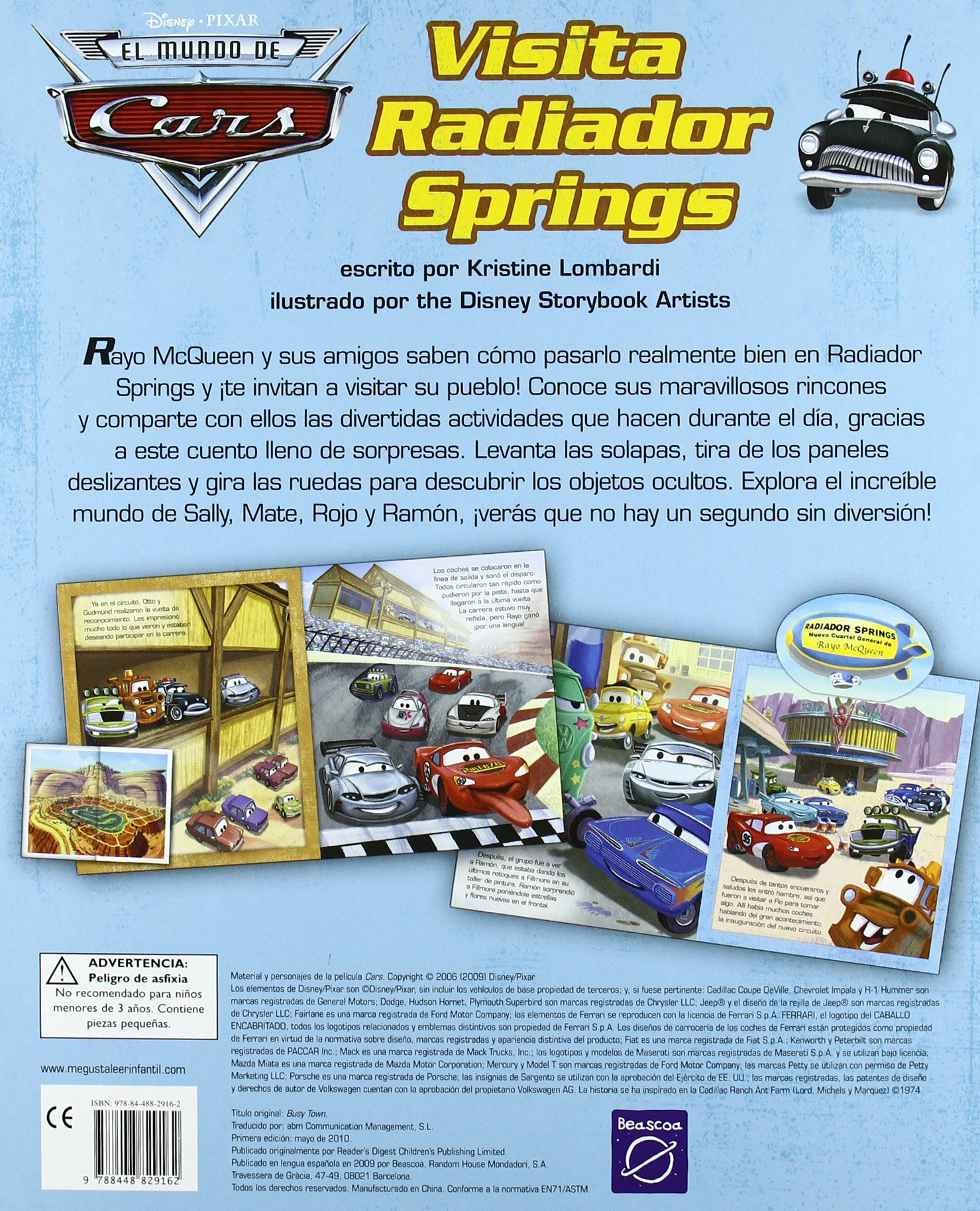 Visita radiador springs. Cars: Varios Autores: 9788448829162: Amazon.com: Books