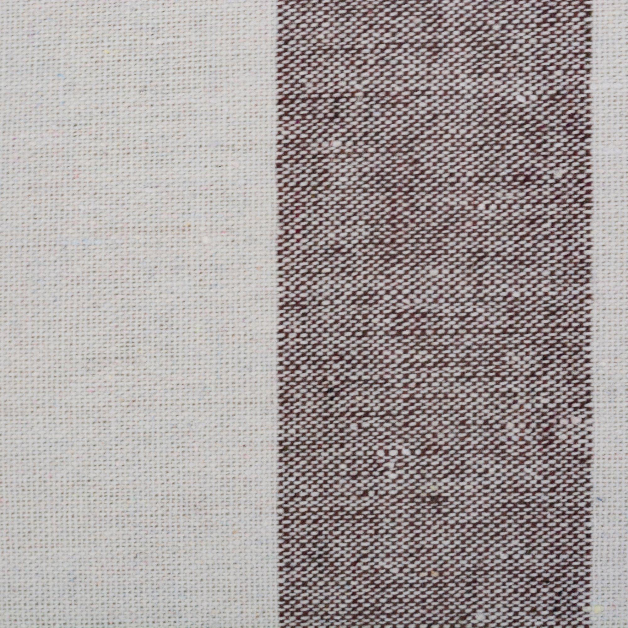 DII Boho Stripe Beach Bag 16x20x7 Shoulder Travel Tote Black, Boho Stripe Brown by DII (Image #2)