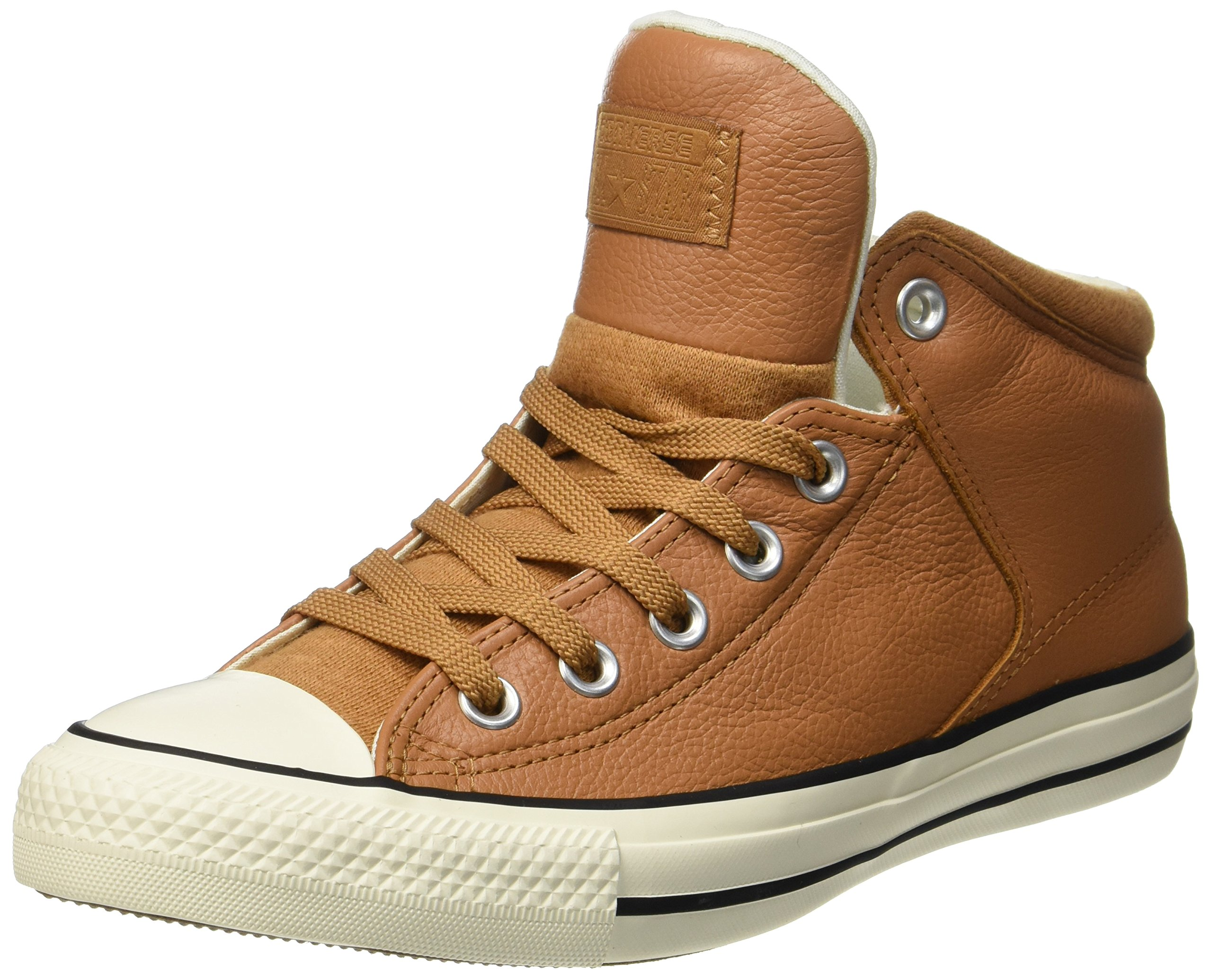 a551091d31a0 Galleon - Converse Mens Chuck Taylor All Star High Street Hi Raw Sugar  Egret Leather Trainers 9 US
