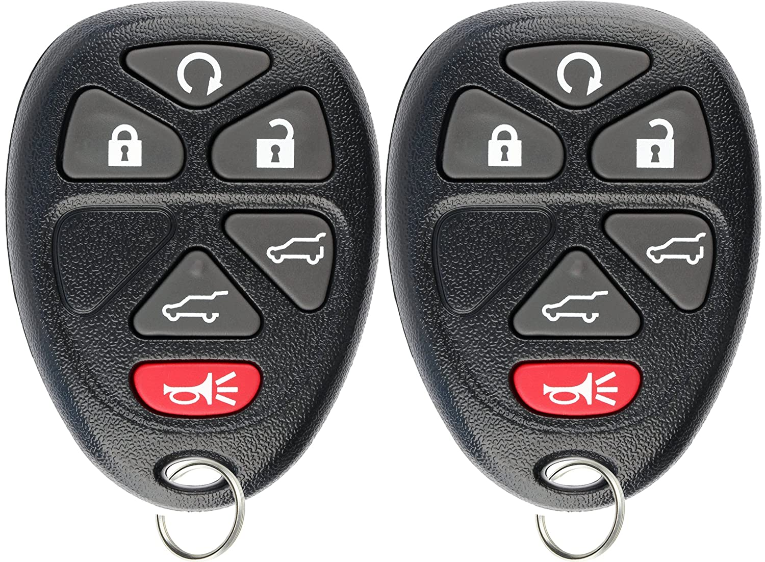 2 KeylessOption Replacement Keyless Entry Remote Start Control Key Fob Compatible with 15913427 KPT2705