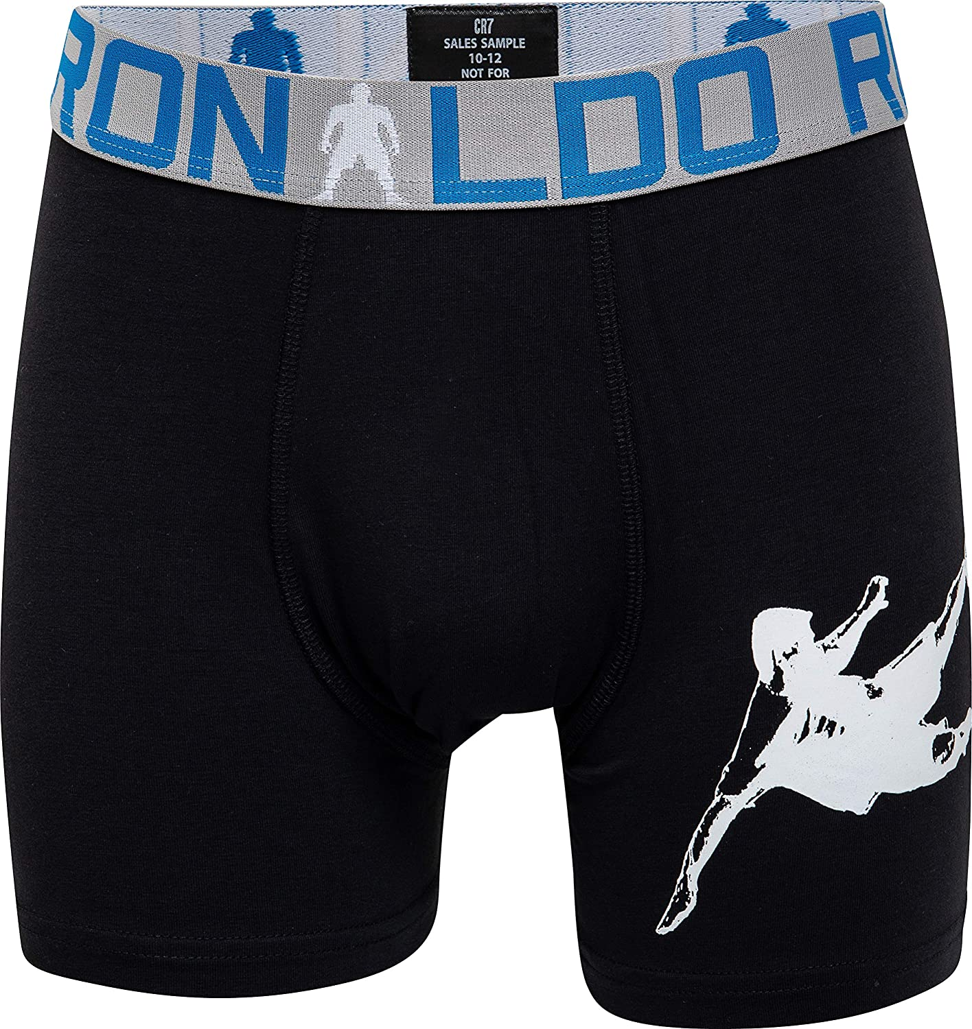 2-Pack Boys CR7 Cristiano Ronaldo Boxer Aderenti per Ragazzi CR7-8400-51-AOP all-Over-Print