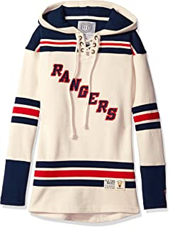 Old Time Hockey NHL Womens Vintage Lacer Heavyweight Hoodie
