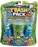 Trash Pack - 6545 - Figurine - Blister de 6 Personnages avec Gel Gluant et Poubelle - Assortiment