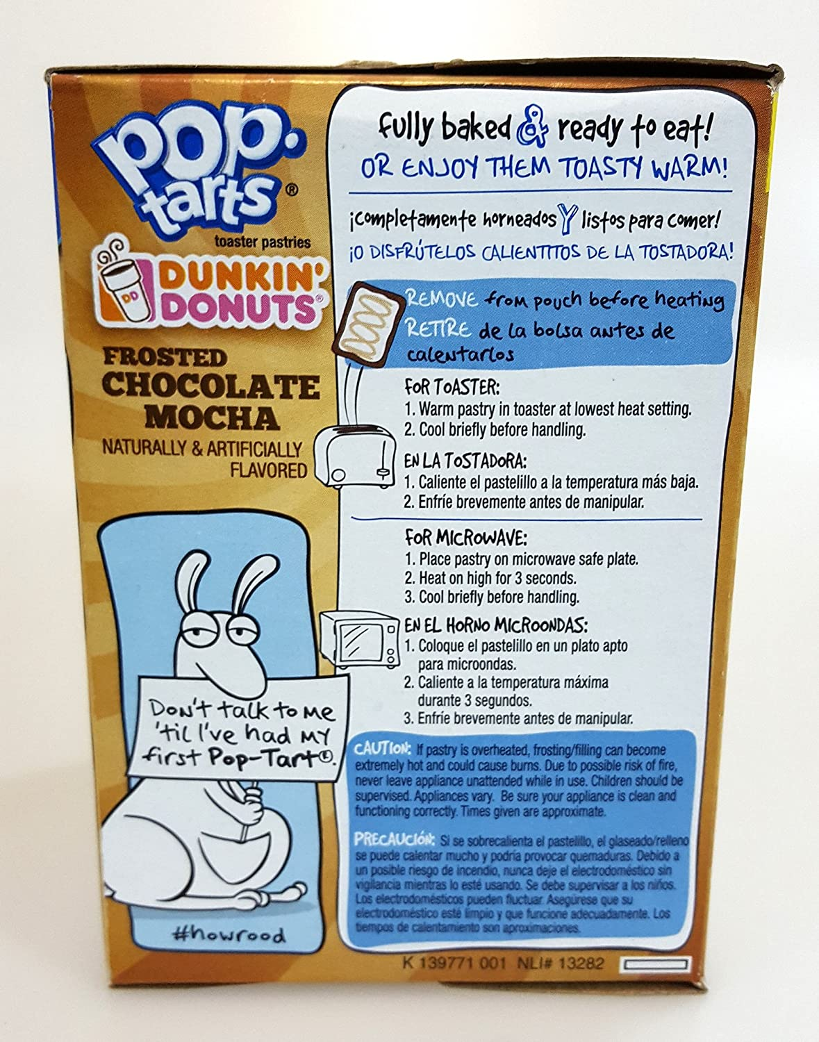 Amazon.com : Pop Tarts Dunkin Donuts Flavored Toaster Pastries Value Packs 2 Boxes of 16 (2 Flavor Pack) : Grocery & Gourmet Food
