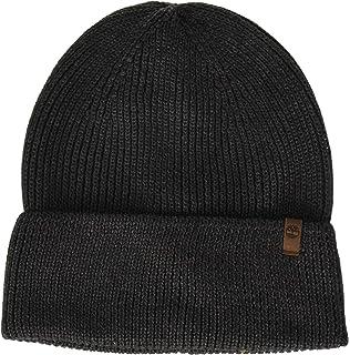fbeec670 Timberland PRO Men's Rib Knit Beanie, Jet Black, One Size at Amazon ...