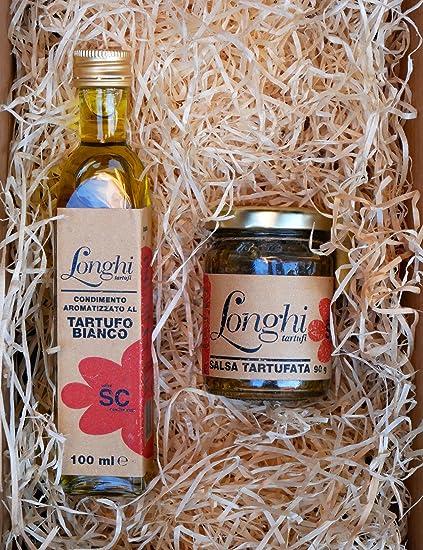 Aceite de trufa y Salsa de setas y trufa negra – set de regalo