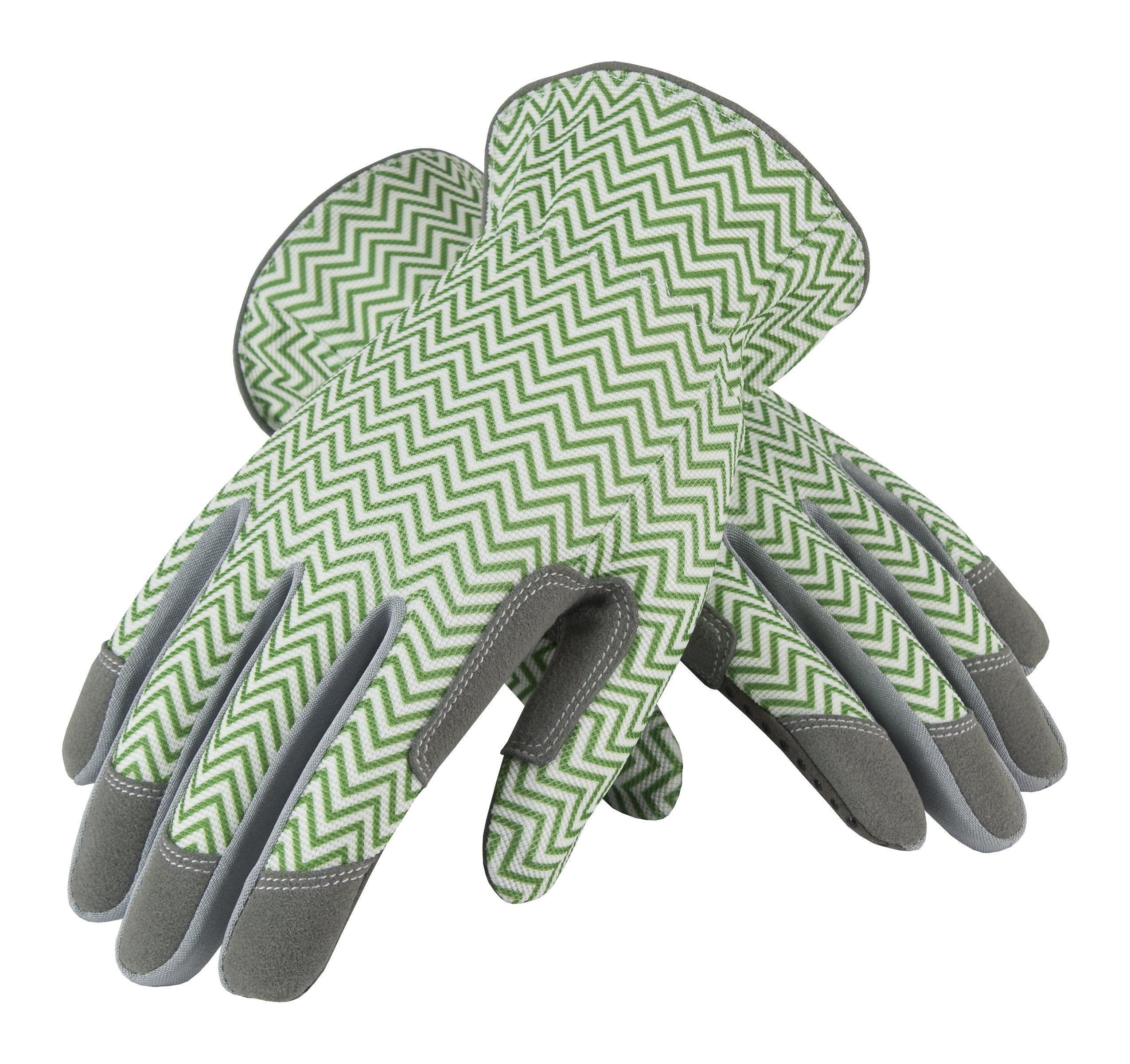 Safety Works 031G/M Mud Zig Zag, Medium, Green/White by Safety Works