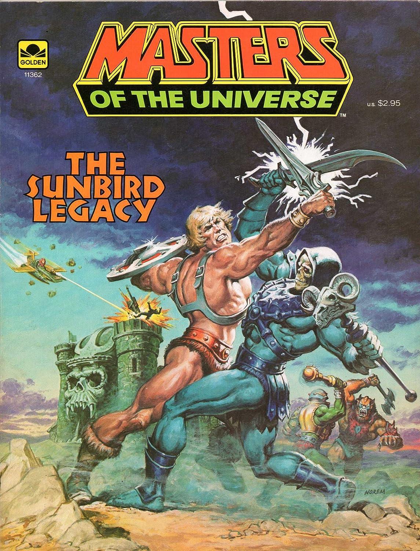 MASTERS OF THE UNIVERSE (Golden Book) Album: Comic Album: Book) The Sunbird Legacy 23ef75