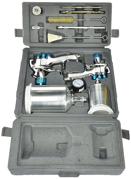 Hvlp Spray Gun Kit >> Devilbiss 802342 Startingline Hvlp Gravity Spray Gun Kit