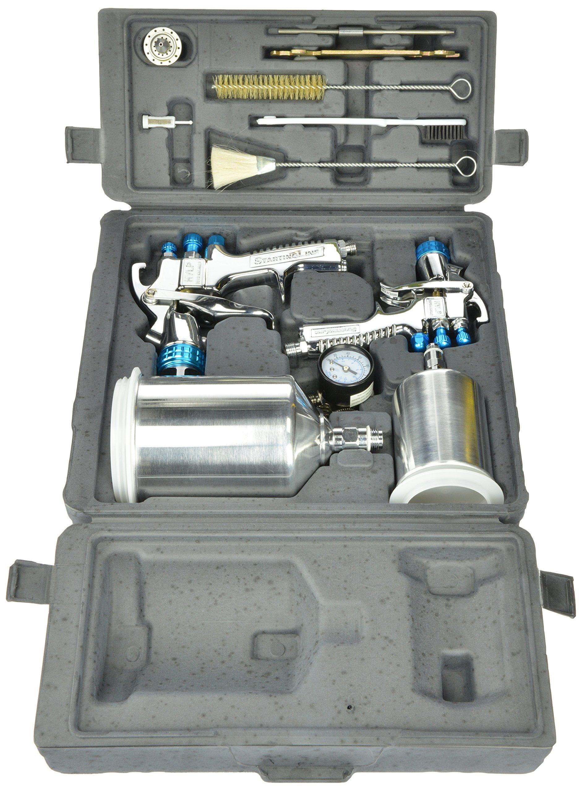 Pistola Para Pintar Devilbiss 802342 Startingline Hvlp Kit