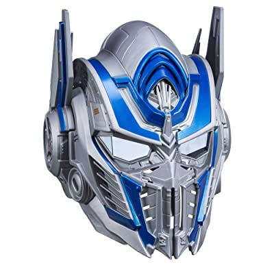 Transformers: The Last Knight Optimus Prime Voice Changer Helmet: Toys & Games