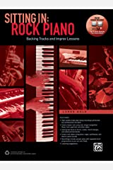 Sitting In -- Rock Piano: Backing Tracks and Improv Lessons, Book & Online Audio/Software (Sitting In Series) Paperback
