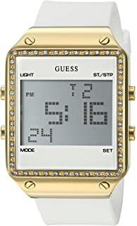 GUESS Watches Silicone Strap Buckle