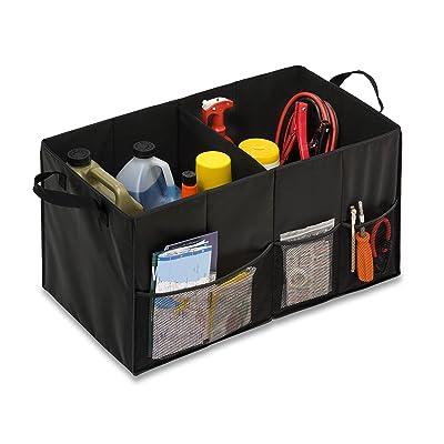 Honey-Can-Do Folding Car Trunk Organizer, Black: Home & Kitchen
