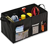 Honey-Can-Do Folding Car Trunk Organizer, Black
