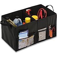 Honey-Can-Do SFT-01166 Black Folding Trunk Organizer, Black