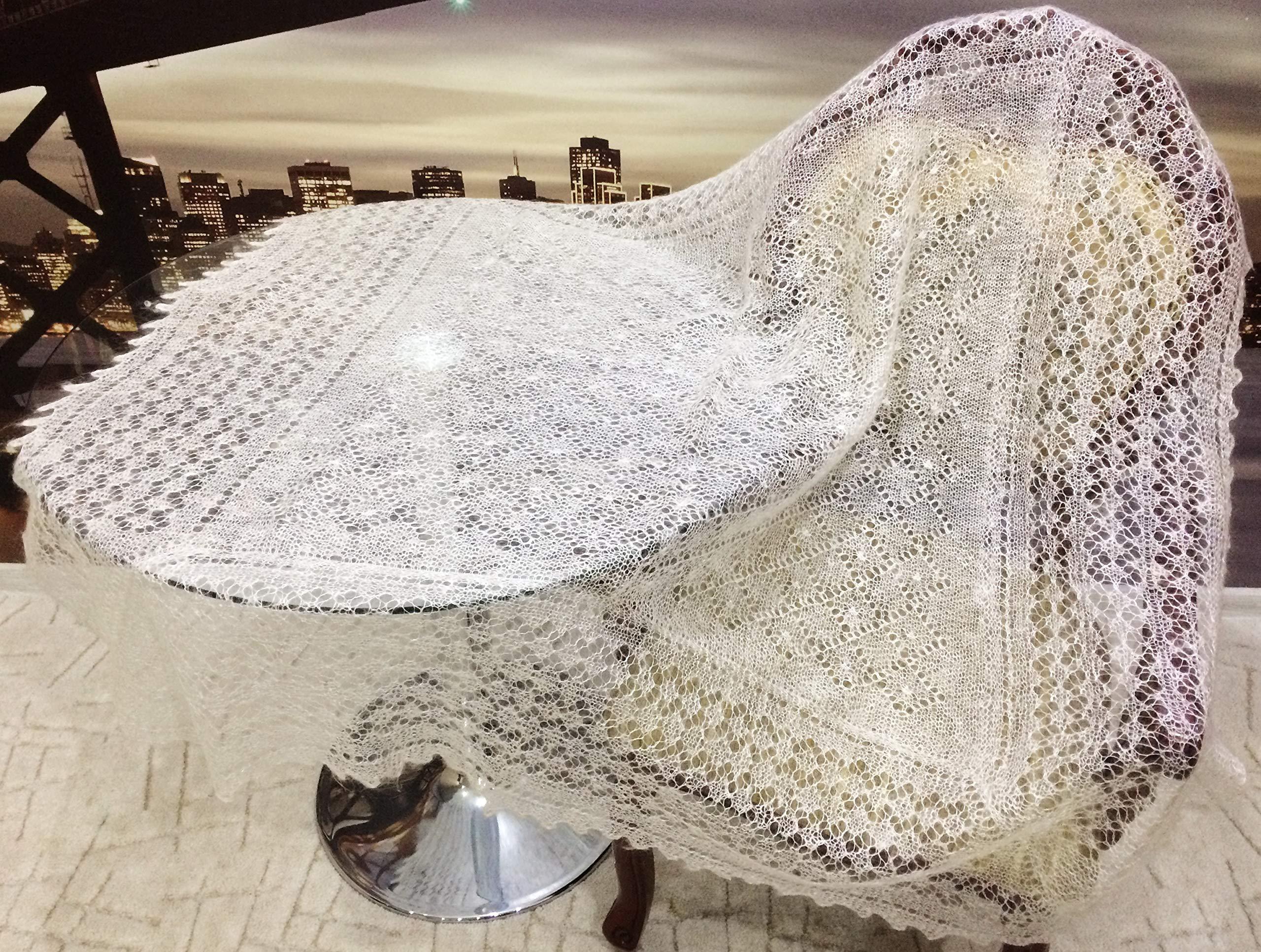 Orenburg shawl, down-hair knitting, Orenburg Shawl, warm gossamer shawls