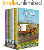 Amish Homecoming Series: Books 1-4: Amish Proposal, Amish Auction, Amish Promise, Amish Outcast (Amish Homecoming Box…