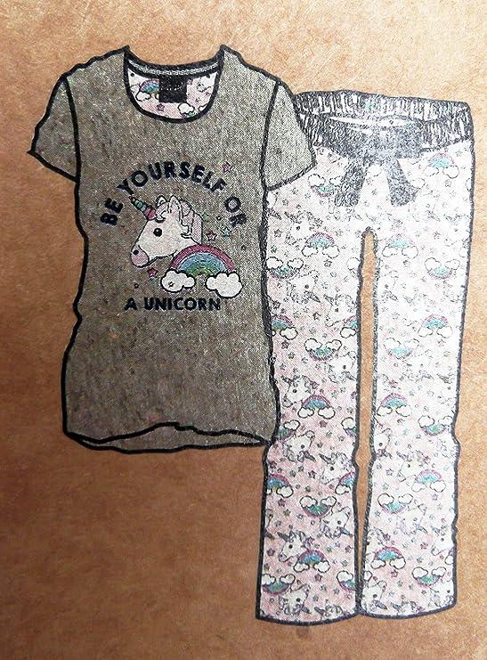 Ladies Unicornio Pijama Agnes Minions Despicable Me Producto Oficial Rosa Rosa XL: Amazon.es: Ropa y accesorios