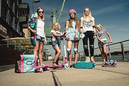 Amazon.com: HUDORA patinete para niños y niñas de 2 a 6 años ...