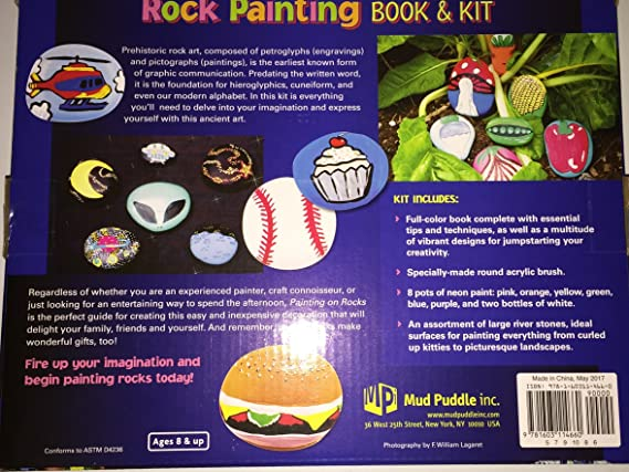 Amazon rock painting book and kit solutioingenieria Images
