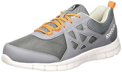 Reebok Men's Sprint Affect Dust/Grey/Nacho/White Running Shoes - 7 UK