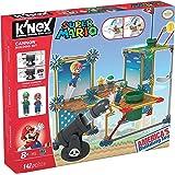 K'NEX-Fábrica de Juguetes - 41014, Gioco di costruzioni, motivo: Super Mario e il cannone, 142 pz.