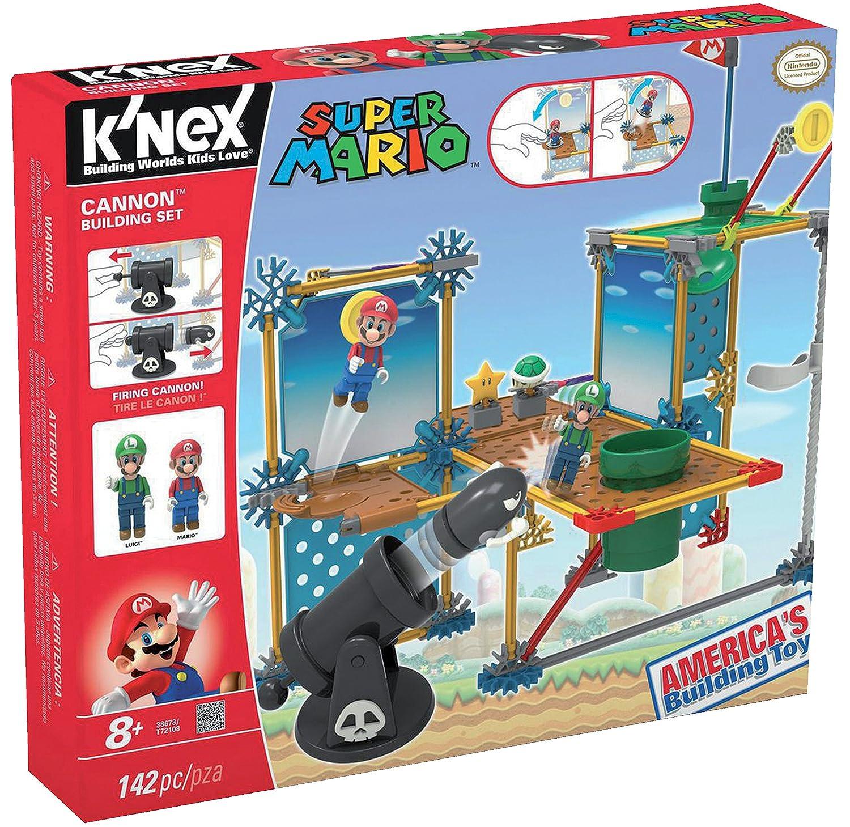 K'NEX Super Mario - Set de construcción Deluxe Gran Cañón, 142 piezas (Fábrica de Juguetes 41014) construccion contrucción k'nex kart