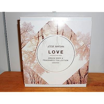 Josie Maran Argan Body & Fragrance Collection Love 6 Pc Set