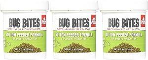 Fluval (3 Pack) Bug Bites Bottom Feeder Formula for Small to Medium Fish