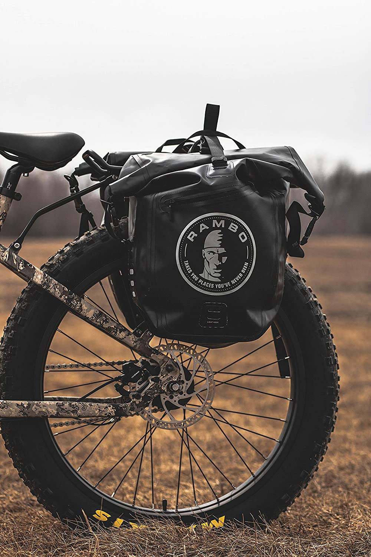 Rambo Bikes Half Saddle Bag-Black