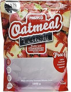 Prozis Oatmeal, Tarta de Queso con Fresas - 1000 gr